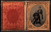 [Union Soldier and Barber]