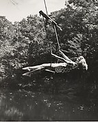 [Woman on Swing, Horizontal]