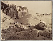 [Ice Bridge and the American Falls, Niagara, New York]