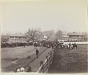 Procession of Troops and Civilians on Way to Dedication of Soldiers' National Cemetery, Gettysburg, Pennsylvania