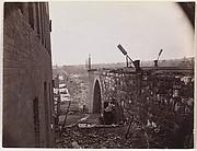 Ruins of Richmond & Petersburg Railroad Bridge, Richmond, Virginia