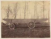 [Detachment of 50th N.Y. Volunteer Engineers, Pontoon Wagon and Saddle Boat]