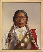[Native American with a Medal of President Garfield]