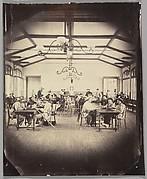 Asile impériale de Vincennes, salle de jeu