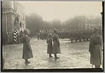 [Tsar Nicholas II with the Tsarevich Alexei Reviewing Troops]