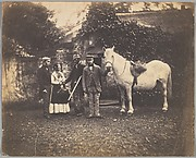 [Rural Group with Horse]