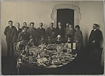 [The Bolshevick Committee Gathering to Value and Dispose of Imperial Regalia]