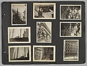 [New York City Pedestrians, Construction Sites, Buildings, and Street Signs]