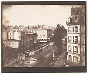 View of the Boulevards of Paris