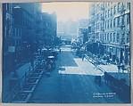 [IRT Construction, Centre Street and Leonard Street, New York City]