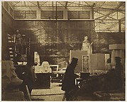 [Storeroom with Artisans and Plaster Casts, Crystal Palace]