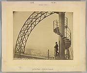 La Tour Eiffel. – Détail du Campanile.