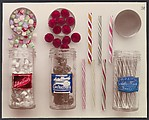 [Satinettes, Filled Confections and Ye Old Style Stick Candy]