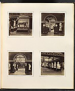 [Statue of a Horse; Roman Court, Portrait Busts of Emperors; Doorway of Roman Court, Flanked by Portrait Bust of Nero; Greek Court of Philosophers, Statesmen, and Generals]