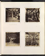 [Court of Ancient Monuments; German Medieval Court; View with Statue of Albert of Bavaria; Elevated View of Central Transept]