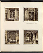 [Entryway to the Renaissance Court; Doorway from an Old Palace of the Dorias; The Ghiberti Gates; View in Medieval Court]