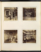 [Entryway of Renaissance Court; Medieval Vestibule; View of the Renaissance Court; Room of Classical Reliefs and Sarcophagi]