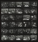 [El Morocco Contact Sheet]