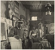 Barber Shop Interior, Atlanta, Georgia