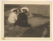 Meadow in Birgitz (Hans and Mary Seated)