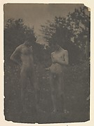 [Nude Men in the Garden]