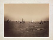 The French and English Fleets, Cherbourg