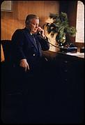 [61 Portraits of Cisler of Detroit Edison, for Fortune Business Executive Profile]