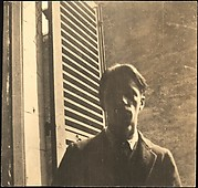 [Self-portrait in Window, 5 rue de la Santè, Paris]
