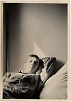 [Walker Evans, Reclining in Sunlight, in Walker Evans's Apartment at 441 East 92nd Street, New York City]