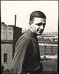[Walker Evans on the Roof of Apartment Building at 441 East 92nd Street, New York City]