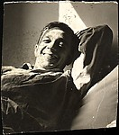[Walker Evans, Reclining In Sunlight, in Apartment at 441 East 92nd Street, New York City]