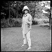 [12 Portraits of Isabelle Evans Gardening, Old Lyme, Connecticut]