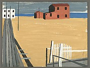 [Seashore Scene with Boardwalk]