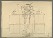 [House with Palm Tree]