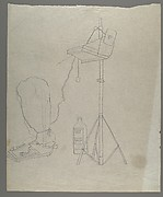 [Line Drawing of Photographic Enlargers]