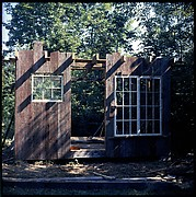 [211 Miscellaneous Personal Photographs: Views of Walker Evans's House and Studio, Old Lyme, Connecticut, Portraits of Evans, and Views of Evans's Paintings]
