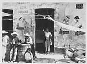 [Street Scene of Men outside a Bar, Mexico]