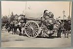 [Horse-Drawn Cart with Large Ceramic Vases in Nets, Cartagena, Spain]