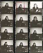 [Original Folder and Annotated Contact Sheet of Portraits of Caroline Freud Sitkowitz]