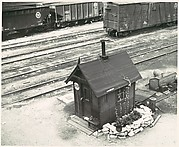 [Switchman's House, Train Yard, Chicago]