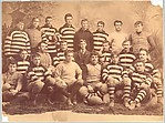 [Walker Evans Jr.'s Rugby Team Portrait]