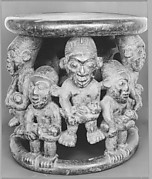 [Seat with Figures, Cameroon]