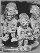 [Seat with Figures (Detail), Cameroon]