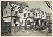 [Rear View of Gothic Revival House, Former Residence of William Hickling Prescott, Swampscott, Massachusetts]