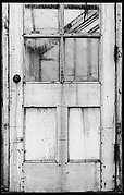 [Exterior Door with Glass Panes]