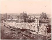 Vue prise dans la vallée de Changy, aux environs de Fontainebleau