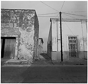 [View of Alley with Five Men at Far End, Campeche, Mexico]