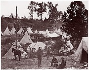Military Railroad Camp, City Point, Virginia