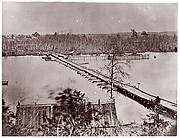 Pontoon Bridge, Broadway Landing, Appomattox River