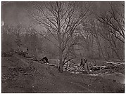 Ruins of RR Bridge. Bull Run